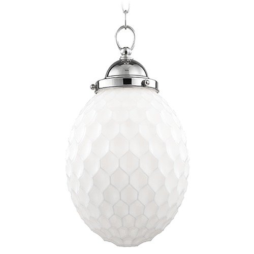 Hudson Valley Lighting Columbia 1 Light Mini-Pendant Light - Polished Nickel 3010-PN