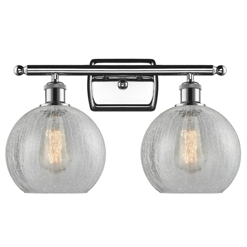 Innovations Lighting Innovations Lighting Athens Polished Chrome Bathroom Light 516-2W-PC-G125