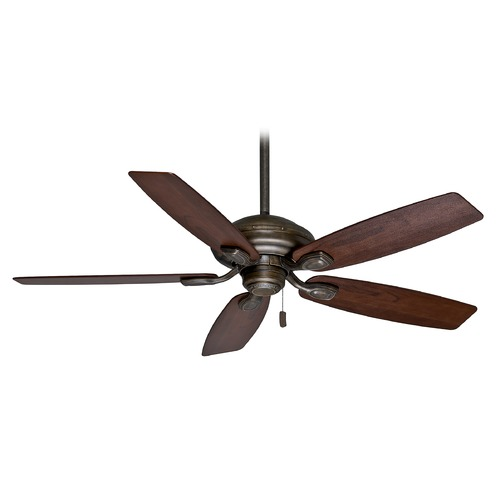 Casablanca Fan Co Casablanca Fan Utopian Aged Bronze Ceiling Fan Without Light 54036
