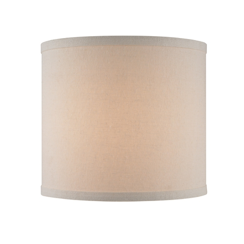 Cream Linen UNO Drum Lamp Shade