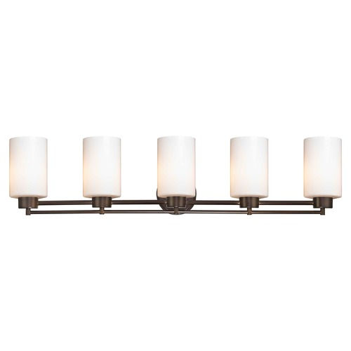 Design Classics Lighting Bronze Bathroom Light 706-220 GL1028C