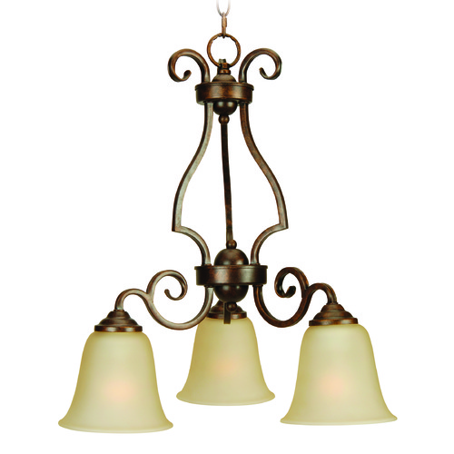 Craftmade Lighting Craftmade Cecilia Peruvian Bronze Mini-Chandelier 7121PR3