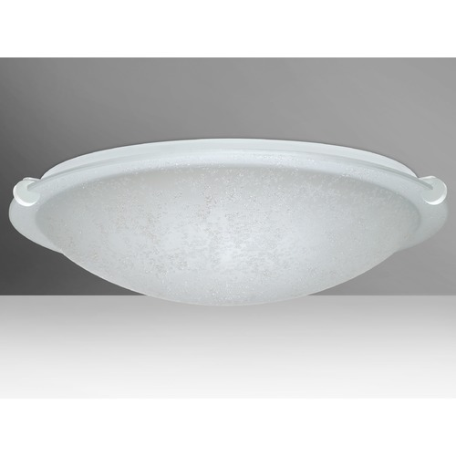 Besa Lighting Besa Lighting Trio White Flushmount Light 9680ST-WH