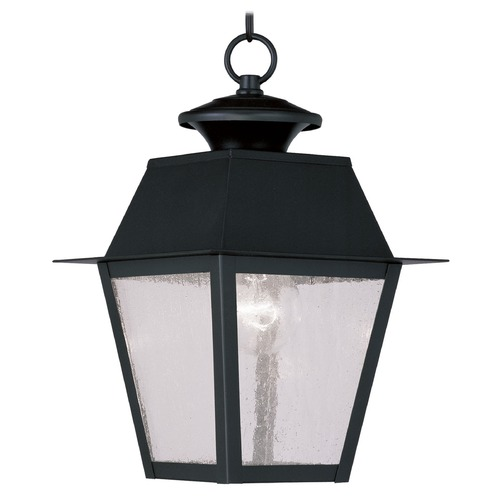 Livex Lighting Livex Lighting Mansfield Black Outdoor Hanging Light 2164-04