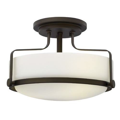 Hinkley Lighting Hinkley Lighting Harper Oil Rubbed Bronze LED Semi-Flushmount Light 3641OZ-LED