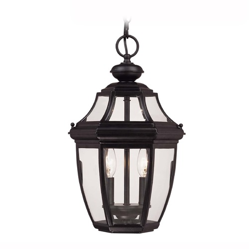 Savoy House Savoy House Black Outdoor Hanging Light 5-494-BK