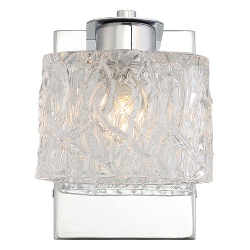 Quoizel Lighting Quoizel Lighting Platinum Collection Seaview Polished Chrome Bathroom Light PCSW8601CLED