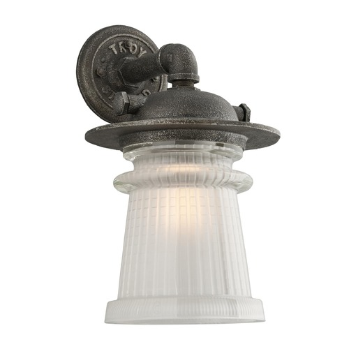 Troy Lighting Troy Lighting Pearl Street Charred Zinc Outdoor Wall Light B4353