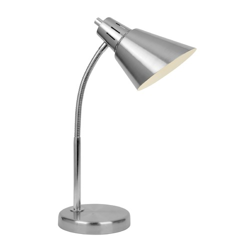 Lite Source Lighting Lite Source Lilia Brushed Nickel Desk Lamp LS-22952
