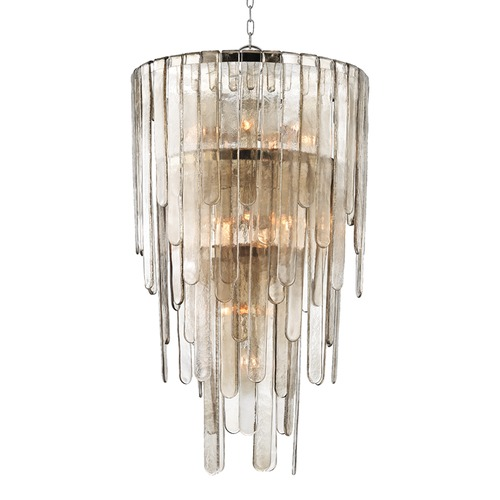 Hudson Valley Lighting Hudson Valley Lighting Fenwater Polished Nickel Pendant Light with Cylindrical Shade 9425-PN