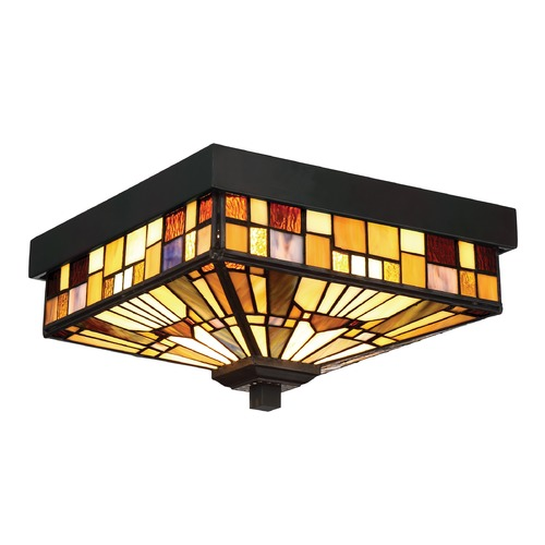 Quoizel Lighting Quoizel Lighting Inglenook Valiant bronze Flushmount Light TFIK1611VA