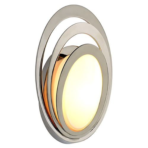 Troy Lighting Troy Lighting Stratus Polished Stainless LED Outdoor Wall Light 2700K 840LM B6501