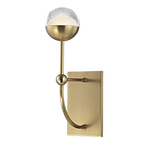 Hudson Valley Lighting Hudson Valley Lighting Boca Aged Brass LED Sconce 1221-AGB