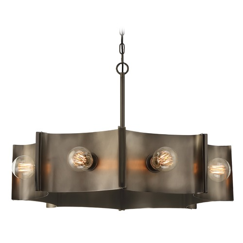 Eurofase Lighting Eurofase Lighting Metallo Vintage Nickel Chandelier 38428-012