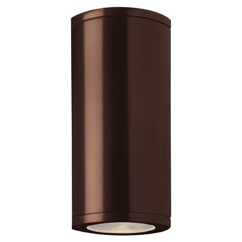 Access Lighting Outdoor Wall Light with Clear Glass in Bronze Finish 20389MG-BRZ/CLR