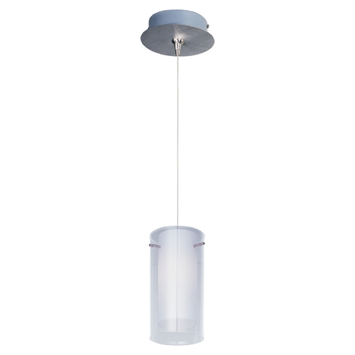 ET2 Lighting Modern Low Voltage Mini-Pendant Light with White Glass E94544-10SN