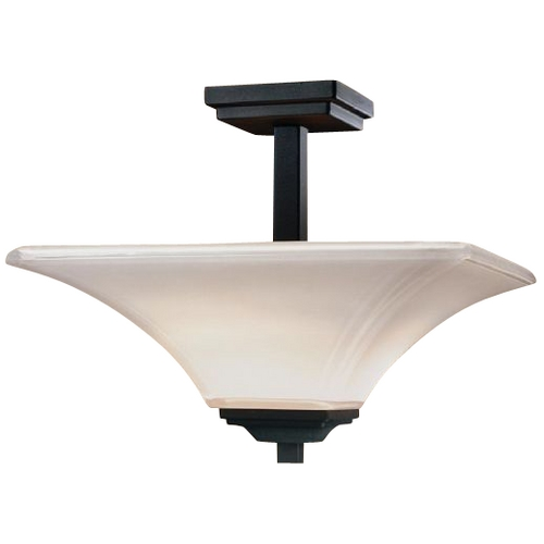 Minka Lavery Two-Light Semi-Flush Ceiling Light 1816-66