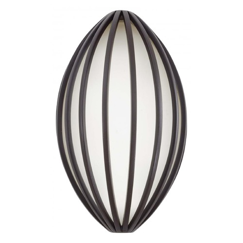 George Kovacs Lighting Minka Dorian Bronze LED Outdoor Wall Light P1232-615B-L