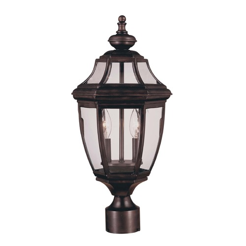 Savoy House Savoy House English Bronze Post Light 5-497-13