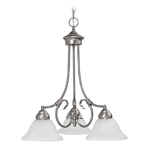 Capital Lighting Capital Lighting Hometown Matte Nickel Chandelier 3224MN-220