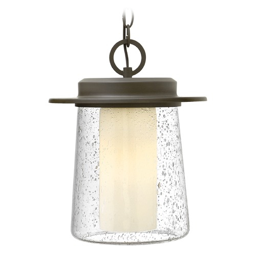 Hinkley Lighting Hinkley Lighting Riley Oil Rubbed Bronze LED Outdoor Hanging Light 2012OZ-LED