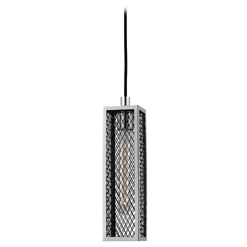 Hudson Valley Lighting Brookline 1 Light Mini-Pendant Light - Polished Nickel 4000-PN