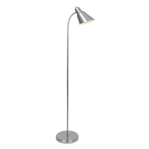 Lite Source Lighting Lite Source Lilia Brushed Nickel Arc Lamp with Conical Shade LS-82952