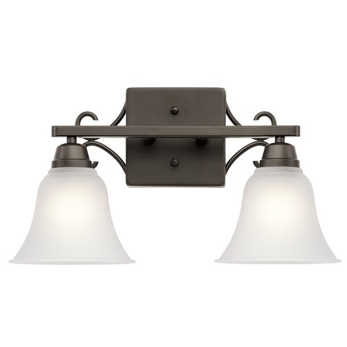 Kichler Lighting Kichler Lighting Bixler Olde Bronze Bathroom Light 45939OZ