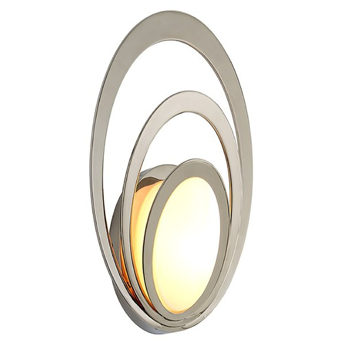 Troy Lighting Troy Lighting Stratus Polished Stainless LED Outdoor Wall Light 2700K 840LM B6502