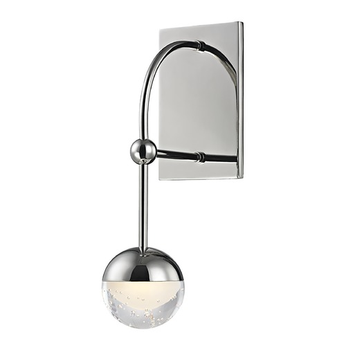 Hudson Valley Lighting Hudson Valley Lighting Boca Polished Nickel LED Sconce 1221-PN