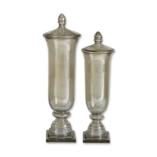 Uttermost Lighting Vase in Pale Green Finish 19148