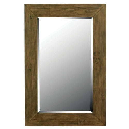 Kenroy Home Lighting Eureka Rectangle 28-Inch Mirror 60202