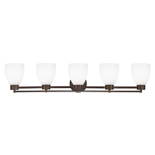 Design Classics Lighting Design Classics Salida Fuse Neuvelle Bronze Bathroom Light 706-220 GL1028MB