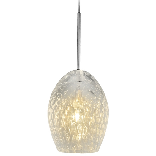 Oggetti Lighting Oggetti Lighting Galaxy Satin Nickel Mini-Pendant Light 34-L03M