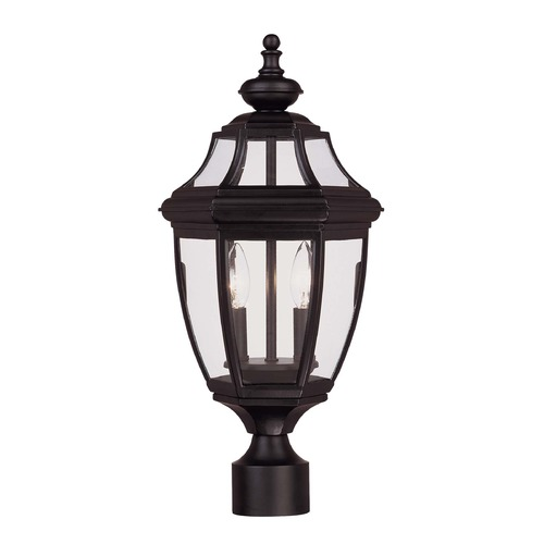 Savoy House Savoy House Black Post Light 5-497-BK