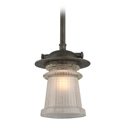 Troy Lighting Troy Lighting Pearl Street Charred Zinc Outdoor Hanging Light F4358
