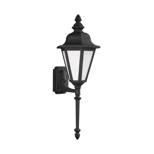 Sea Gull Lighting Sea Gull Lighting Brentwood Black Outdoor Wall Light 89823-12