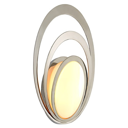 Troy Lighting Troy Lighting Stratus Polished Stainless LED Outdoor Wall Light 2700K 840LM B6503