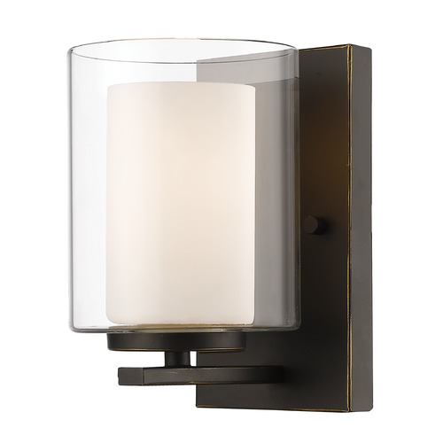 Z-Lite Z-Lite Willow Olde Bronze Sconce 426-1S-OB