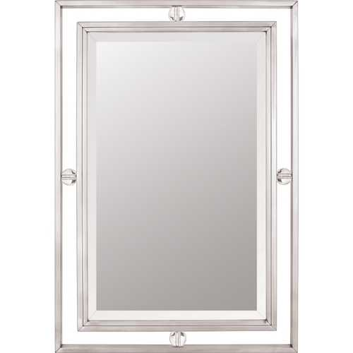 Quoizel Lighting Downtown Rectangle 22-Inch Quoizel Mirror DW43222BN