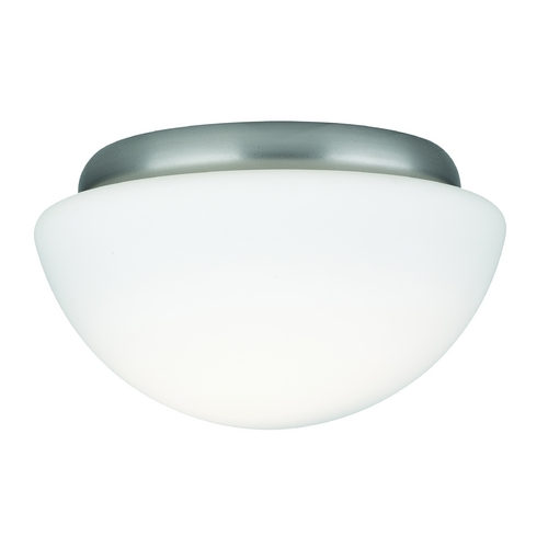 Philips Lighting Modern Flushmount Light with White Glass F6060U