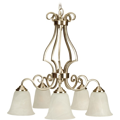 Jeremiah Lighting Jeremiah Cecilia Brushed Satin Nickel Chandelier 7125BN5