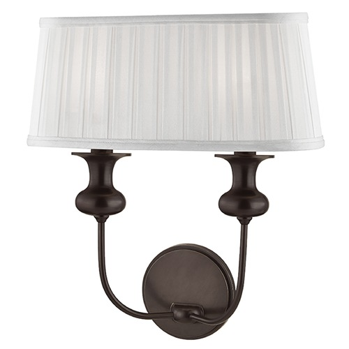 Hudson Valley Lighting Pembroke 2 Light Sconce - Old Bronze 5402-OB