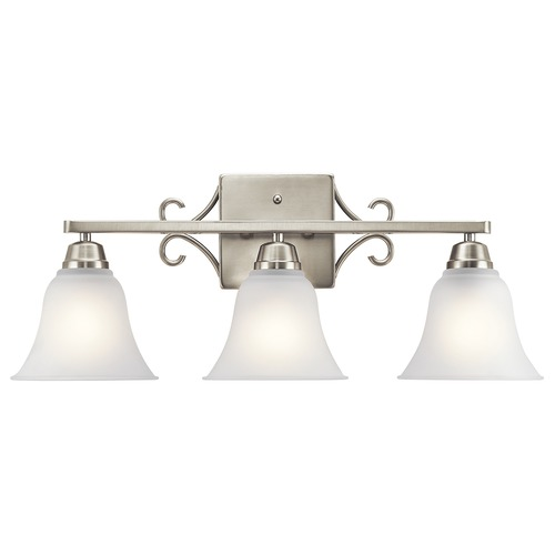 Kichler Lighting Kichler Lighting Bixler Brushed Nickel Bathroom Light 45940NI
