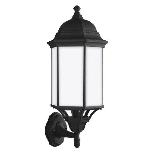 Sea Gull Lighting Sea Gull Lighting Sevier Black Outdoor Wall Light 8638751-12
