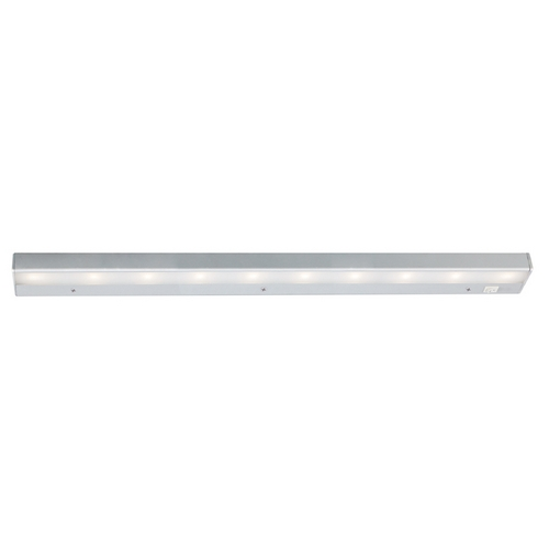 WAC Lighting 30-Inch LED Under Cabinet Light Direct-Wire / Plug-In 3000K 120V Satin Nickel by WAC Lighting BA-LED10-SN