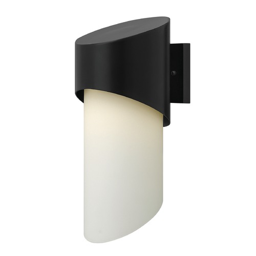 Hinkley Lighting Hinkley Lighting Solo Satin Black LED Outdoor Wall Light 2064SK-LED
