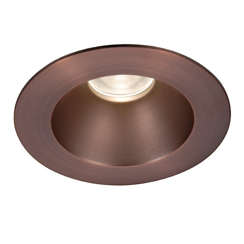 WAC Lighting WAC Lighting Round Copper Bronze 3.5-Inch LED Recessed Trim 3000K 1195LM 30 Degree HR3LEDT118PN830CB