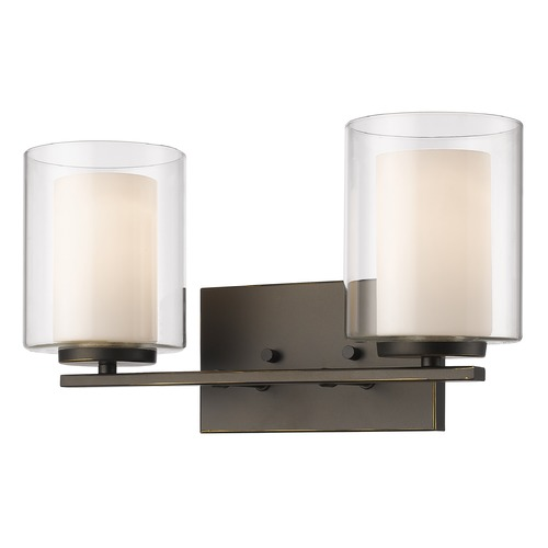 Z-Lite Z-Lite Willow Olde Bronze Bathroom Light 426-2V-OB