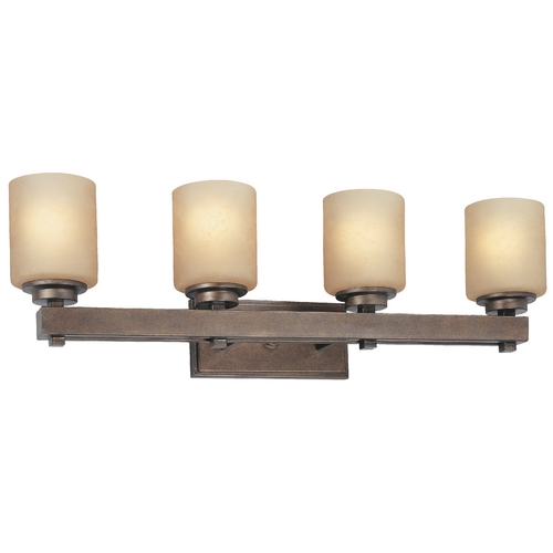 Dolan Designs Lighting Four-Light Bathroom Light 3114-90